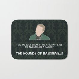 The Hounds of Baskerville - John Watson Bath Mat