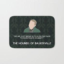 The Hounds of Baskerville - John Watson Bath Mat