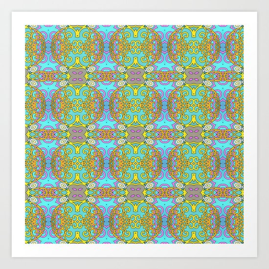 Mix&Match Indian Candy 02 Art Print