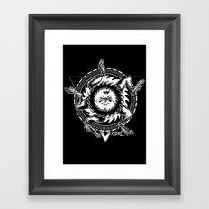 Buer white Framed Art Print