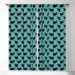 Angry Animals - Hippo Blackout Curtain