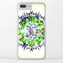 HASI Mandala Clear iPhone Case
