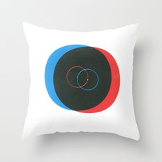 Reverb Throw Pillow
