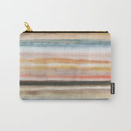 Horizontal stripes Carry-All Pouch