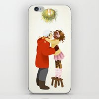 xmas iPhone & iPod Skins featuring Xmas  by Martina Zambelli