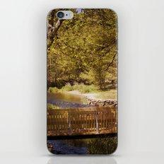 Footbridge iPhone & iPod Skin