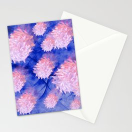 Invasion of the space microbes Stationery Cards