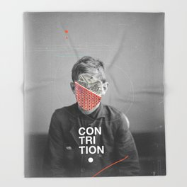 Contrition Throw Blanket