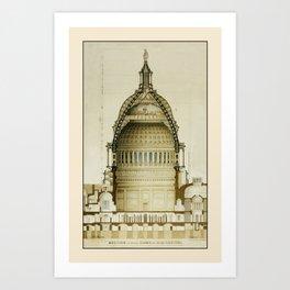 U.S. Capitol Building 2 Art Print