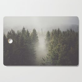 My misty way - Landscape and Nature Photography Cutting Board