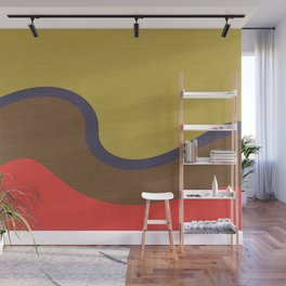 Wind Wave Wall Mural