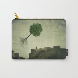 Greening of the foggy town Carry-All Pouch