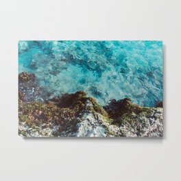 Blue Coast Metal Print