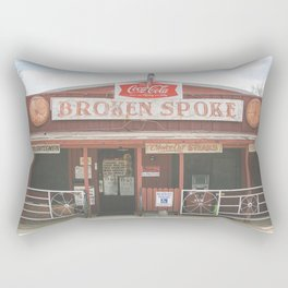 Broken Spoke Austin Texas Rectangular Pillow