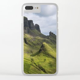 Mesmerized by the Quiraing Clear iPhone Case