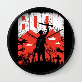 This... is my BOOMSTICK! Wall Clock