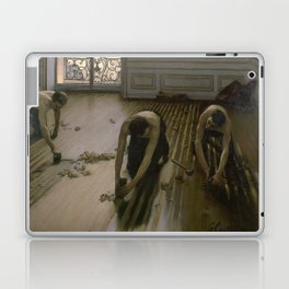 Gustave Caillebotte - The Floor Planers Laptop & iPad Skin