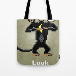 Three-Headed Monkey V2 Tote Bag