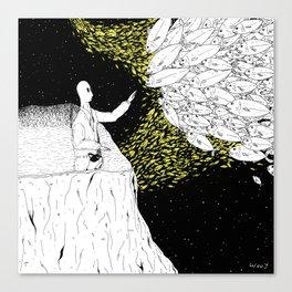 Shoals Of Fish Canvas Print