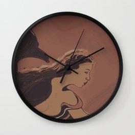 Mermaid / Sketch Wall Clock