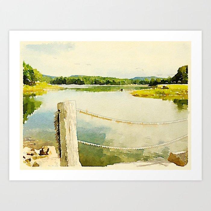 Somes Sound, Maine Art Print