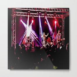 Music show Metal Print