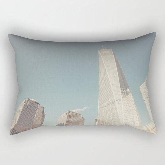 World Sky - New York City Rectangular Pillow