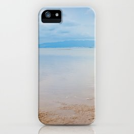 Romantic tranquil and peaceful dusk sea view in Spain iPhone Case