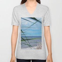 Secluded Beach Unisex V-Neck