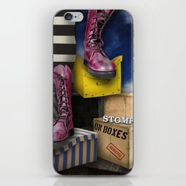 Stomp iPhone Skin