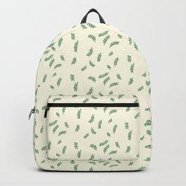 Vine Leaves Print Backpack