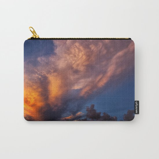 Winged Sunset Carry-All Pouch