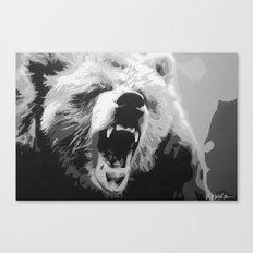 Grizz Canvas Print