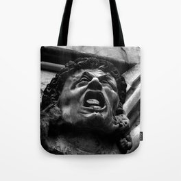 Salisbury Cathedral - Agony Of The Biting Imps Tote Bag