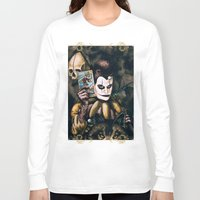 tarot Long Sleeve T-shirts featuring Tarot & Totems by Chad Savage