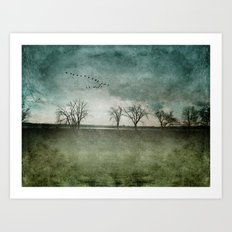 Onondaga Lake Park - Susan Weller Art Print