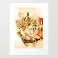 Dinners from 1001 nights Art Print
