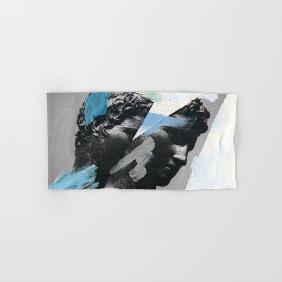 Untitled (Painted Composition 1) Hand & Bath Towel