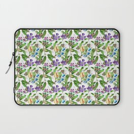 Floral naïf pattern Laptop Sleeve