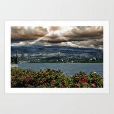 Bridge Near Vancouver Art Print