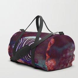 Fingerprint fish Duffle Bag