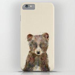 little brown bear iPhone Case