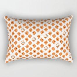 Bunnies in carrot's clothing (pattern) Rectangular Pillow