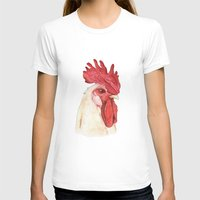 cock T-shirts featuring Cock by Marta Bocos