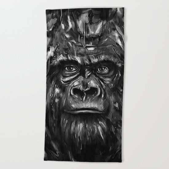 Silverback Beach Towel