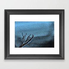 Hunted Branch Framed Art Print