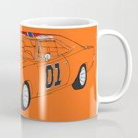 general Mugs featuring General Lee by Martin Lucas