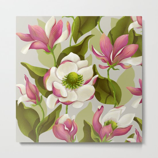 magnolia bloom - daytime version Metal Print