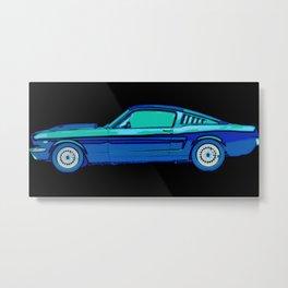 Mustang Love Metal Print