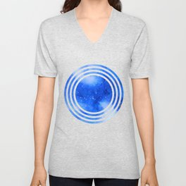 Orion Night Watercolor Unisex V-Neck